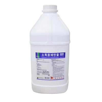 [한신제약] 소독용 에탄올 (4L, 1개)