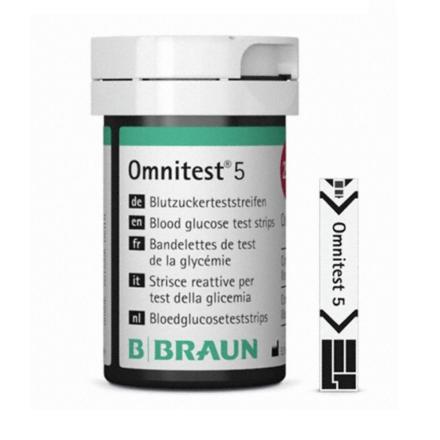 [비브라운] 혈당시험지 옴니테스트 5 (100매/PACK)