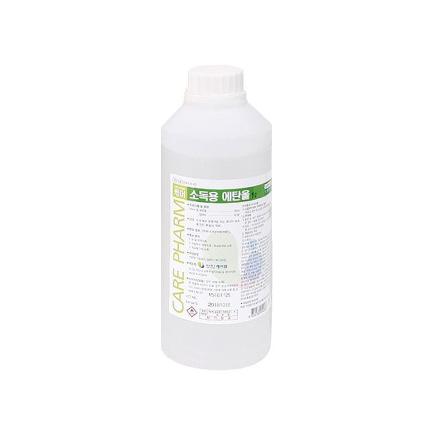 [케어팜] 소독용에탄올 (1L, 83%)