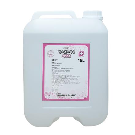 [삼마제약] 에스엠 소독용 에탄올(18L, 83%, 1말)